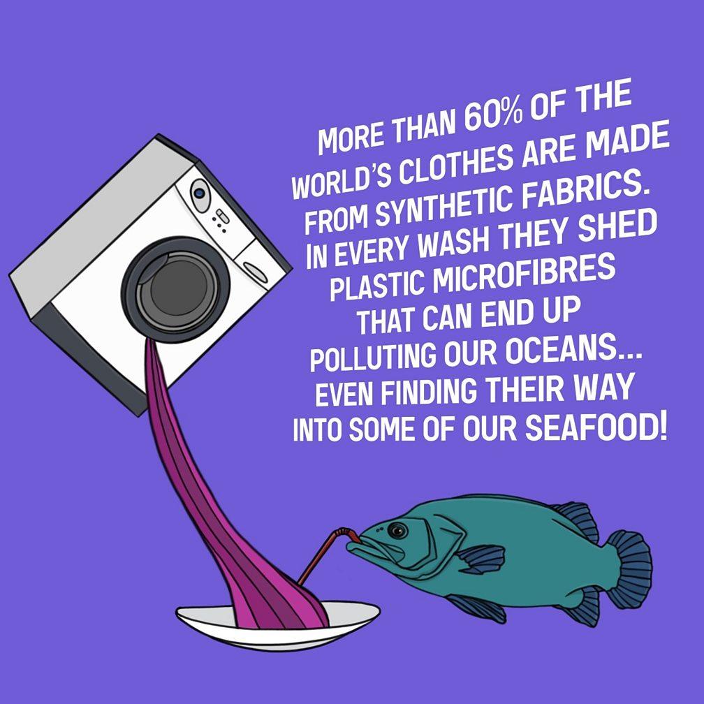 plastic microfibre pollution
