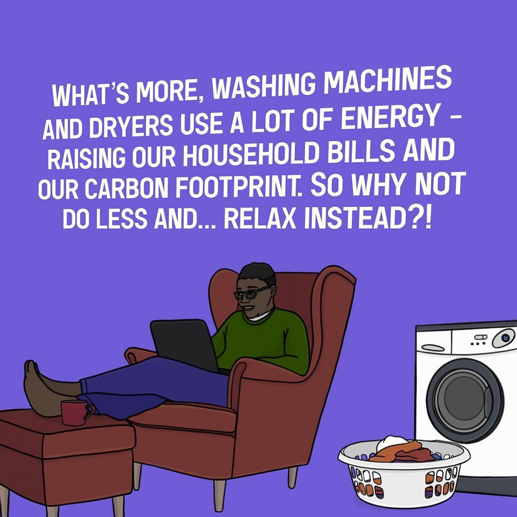 washing machines use energy