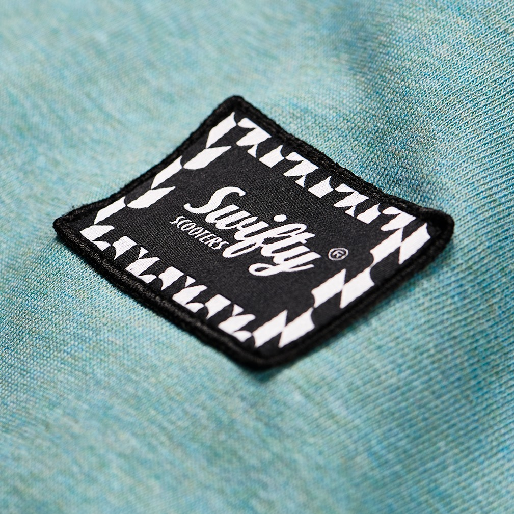 swifty woven badge